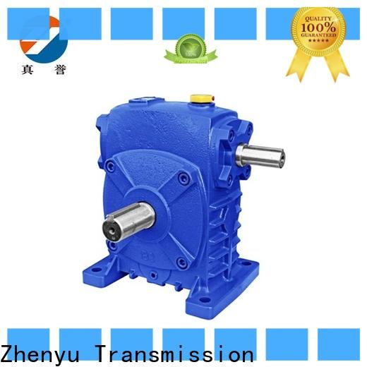 Zhenyu torque electric motor gearbox for construction