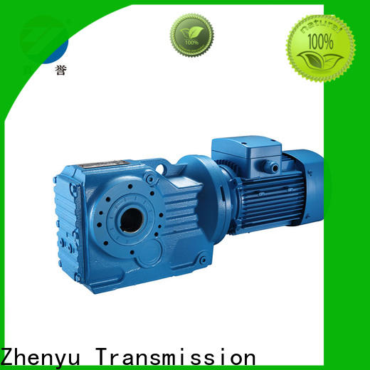 Zhenyu hot-sale speed reducer for electric motor certifications for wind turbines