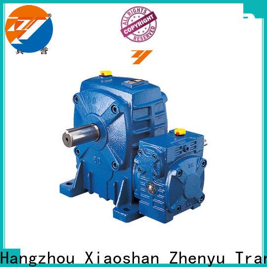 Zhenyu cast sewing machine speed reducer free quote for wind turbines