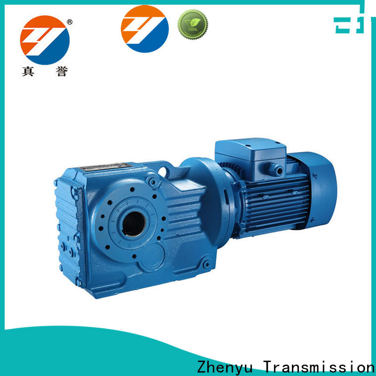 Zhenyu low cost gear reducer box China supplier for light industry