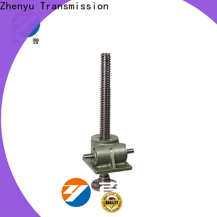 manual jack screw flange wheel equipment for printing