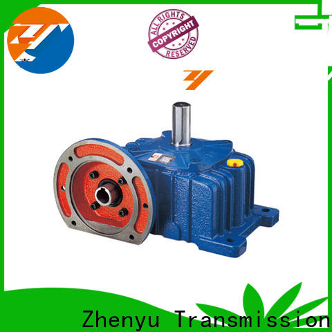 Zhenyu price speed reducer gearbox order now for light industry