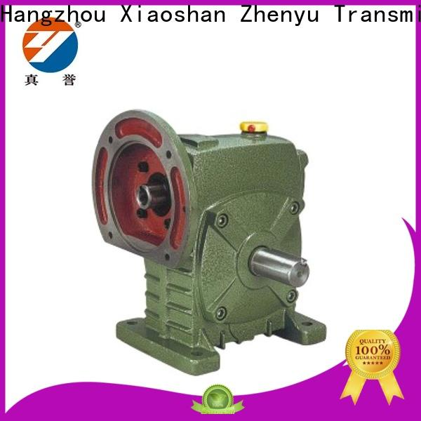 Zhenyu worm worm drive gearbox free quote for chemical steel