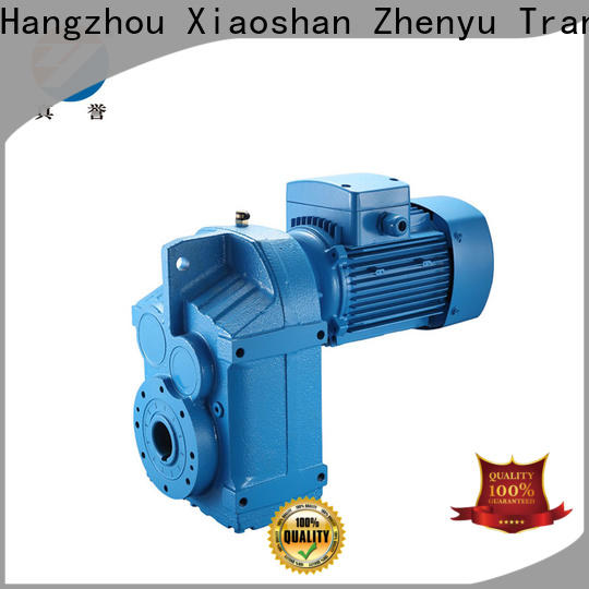 Zhenyu high-energy electric motor gearbox certifications for lifting