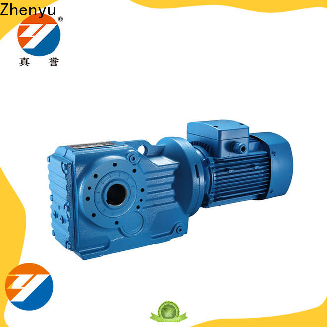 Zhenyu low cost gear reducers China supplier for construction
