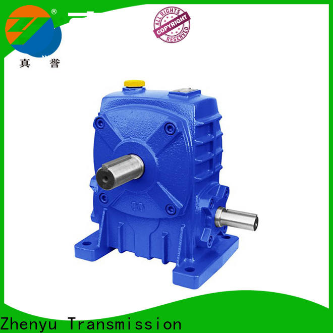 Zhenyu wpdo planetary gear box China supplier for light industry
