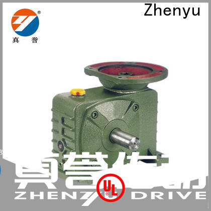 Zhenyu nmrv drill speed reducer certifications for lifting