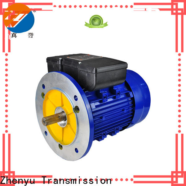 Zhenyu hot-sale single phase motor for transportation
