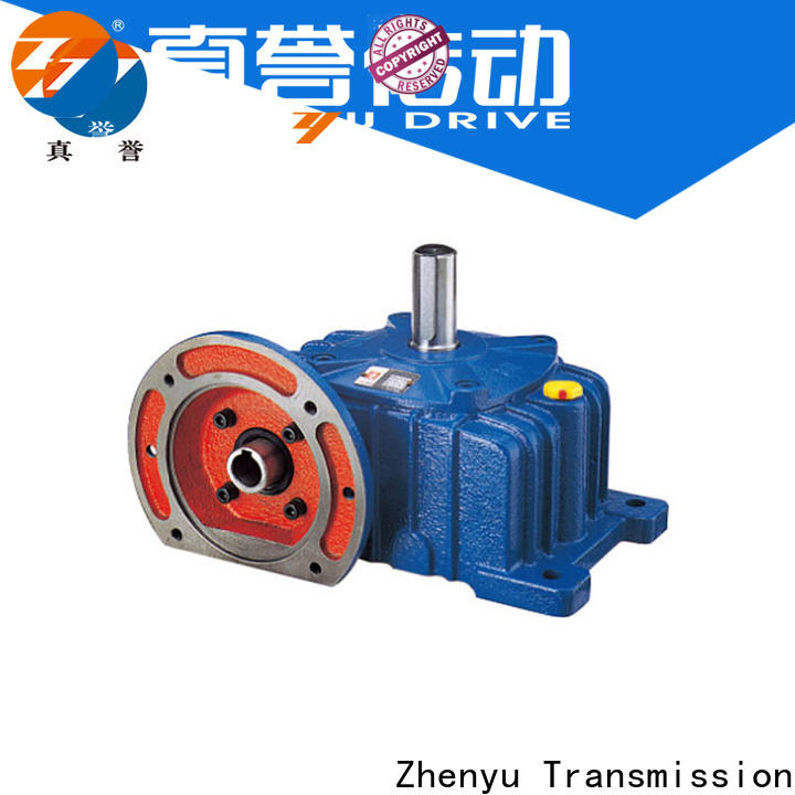 Zhenyu rpm electric motor gearbox widely-use for printing