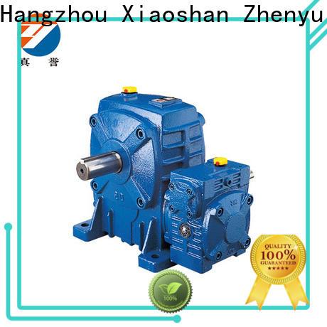 Zhenyu newly worm gear reducer certifications for transportation