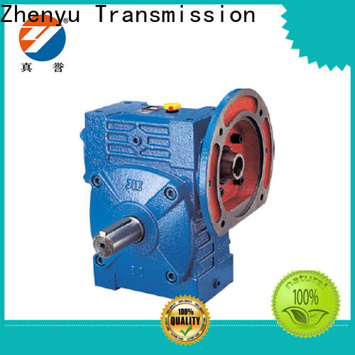 Zhenyu low cost speed reducer gearbox certifications for cement