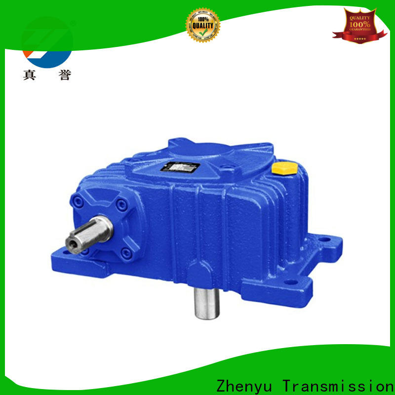 Zhenyu wpdz electric motor gearbox free design for chemical steel