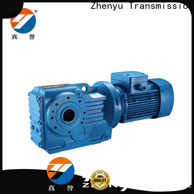 Zhenyu effective speed reducer for electric motor China supplier for lifting