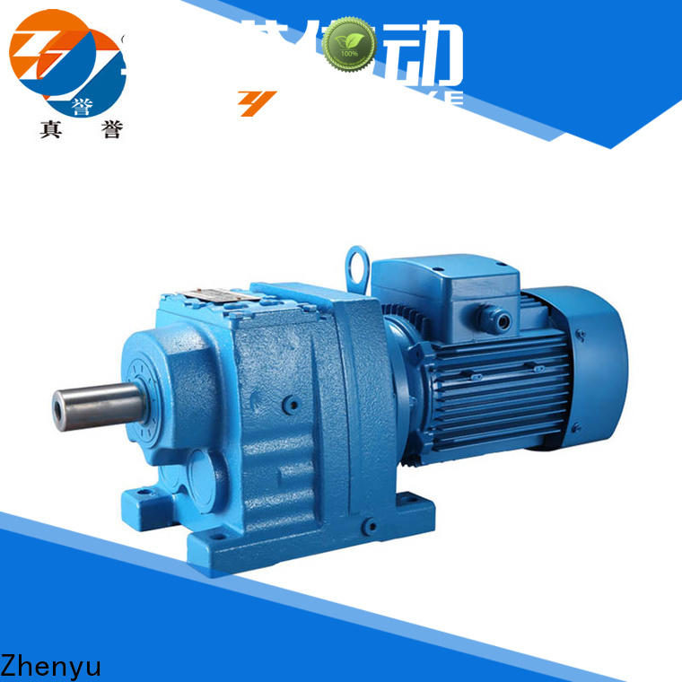Zhenyu new-arrival gear reducers certifications for cement