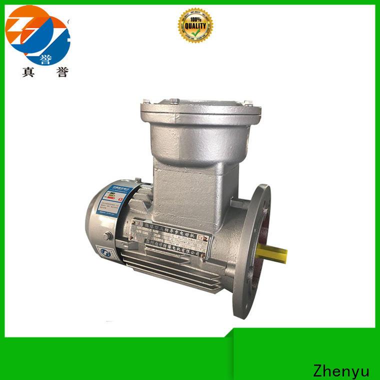 Zhenyu single single phase electric motor for wholesale for mine