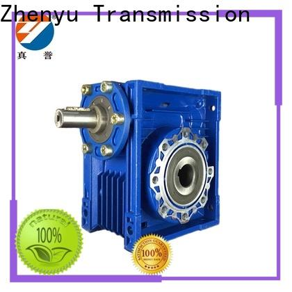 Zhenyu first-rate worm gear reducer free design for light industry