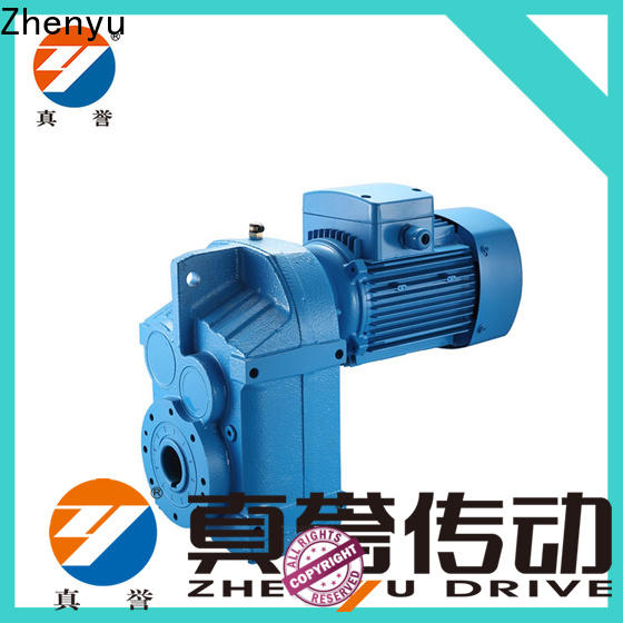 Zhenyu newly speed reducer for electric motor certifications for metallurgical