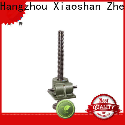 Zhenyu jack worm gear screw jack manufacturer for mining