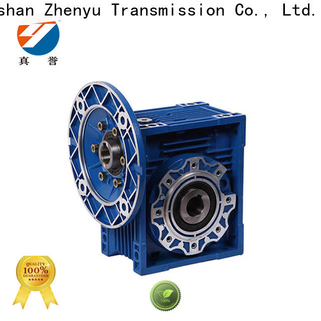 Zhenyu ratio inline gear reducer free quote for construction