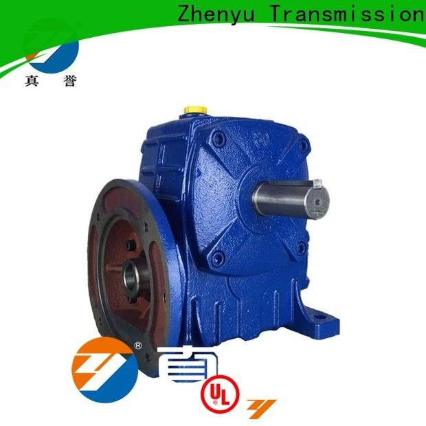 Zhenyu box worm gear reducer free quote for wind turbines