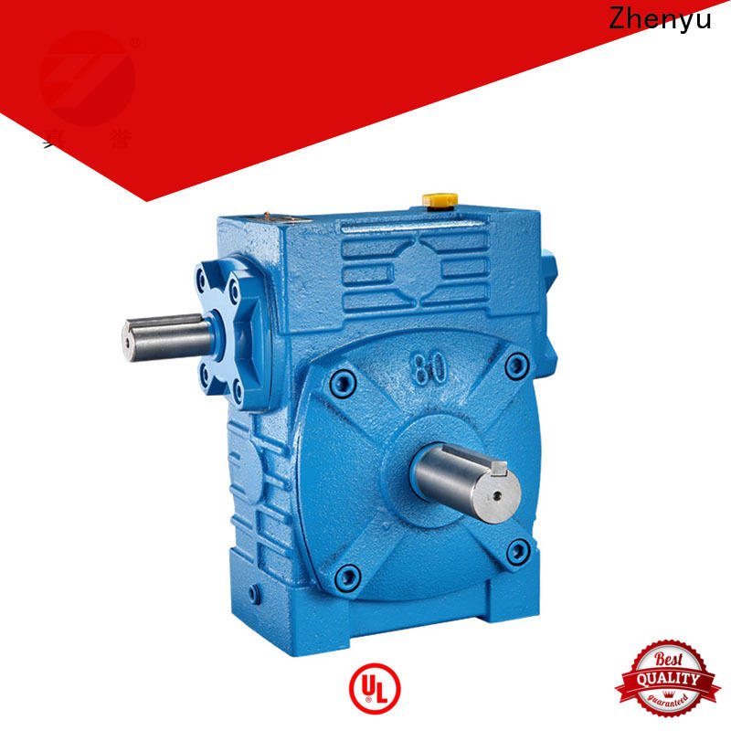 Zhenyu first-rate gear reducer China supplier for transportation