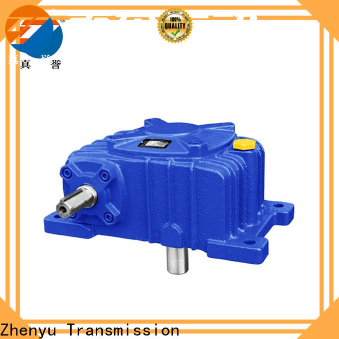 Zhenyu hot-sale gear reducer gearbox China supplier for light industry