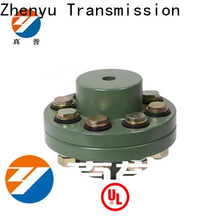 Zhenyu easy operation flexible motor coupling maintenance free for lifting