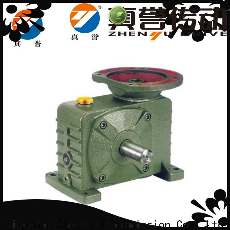 Zhenyu high-energy speed reducer gearbox certifications for transportation