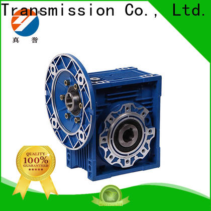 Zhenyu new-arrival worm gear reducer long-term-use for light industry