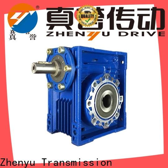 Zhenyu high-energy worm gear speed reducer China supplier for mining