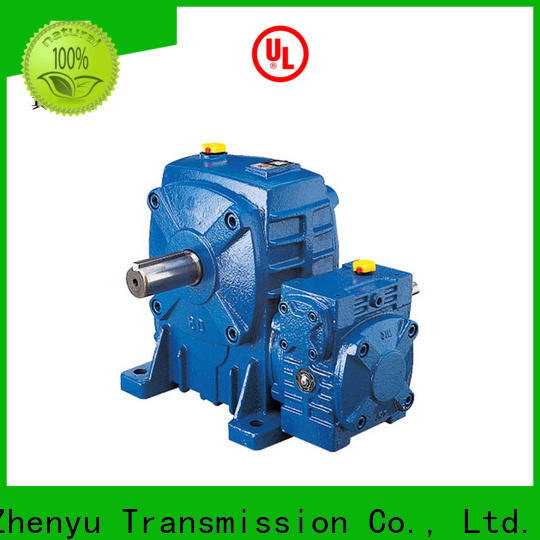 Zhenyu speed reducer for electric motor for light industry