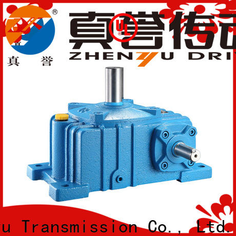 effective speed reducer for electric motor wpdz for transportation