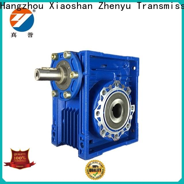 Zhenyu eco-friendly electric motor gearbox free design for cement
