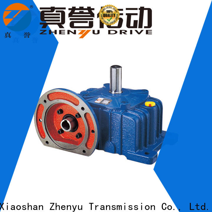 Zhenyu helical speed reducer motor order now for lifting