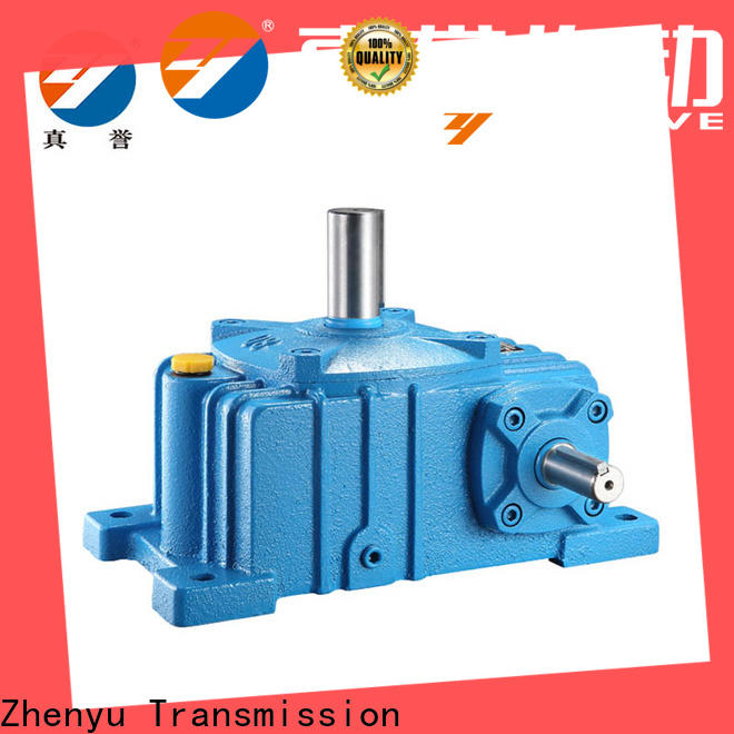 Zhenyu high-energy speed reducer gearbox order now for transportation