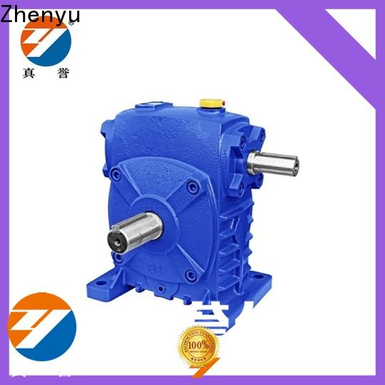 Zhenyu worm inline gear reduction box for cement