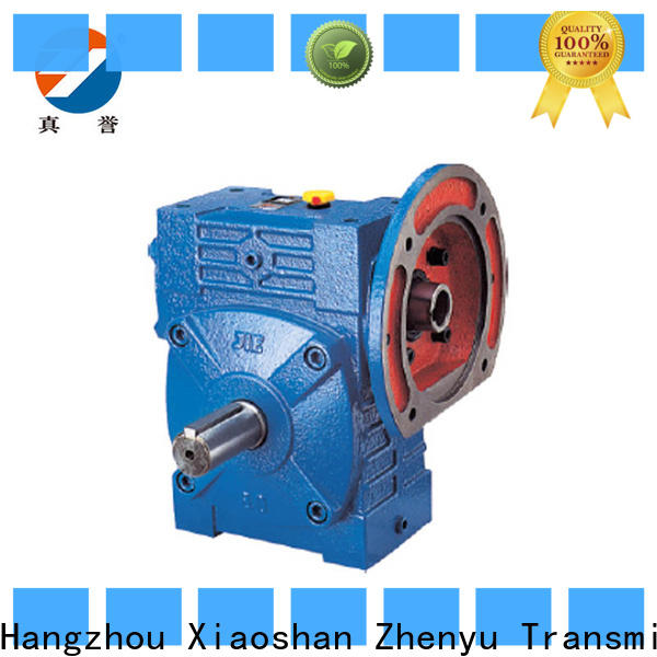 Zhenyu wps worm gear speed reducer free design for metallurgical