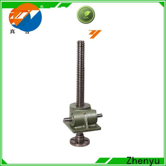 Zhenyu easy operation jack screw flange effectively for machinery