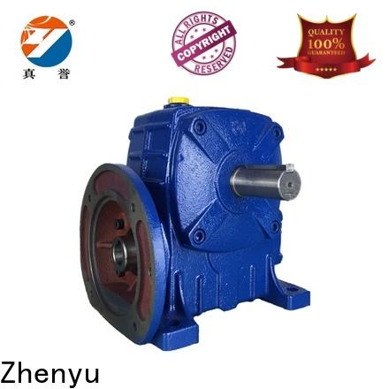 Zhenyu wpx speed reducer for electric motor order now for mining