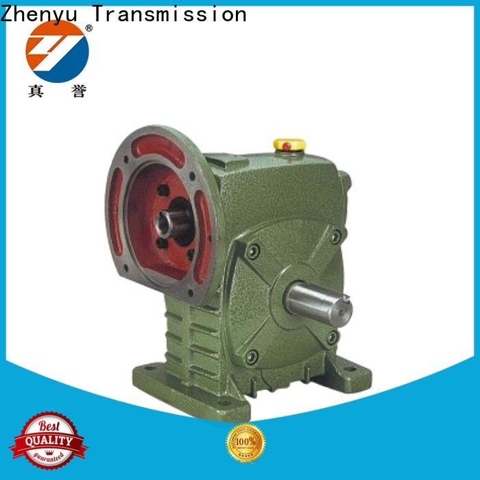 Zhenyu machine electric motor speed reducer China supplier for light industry