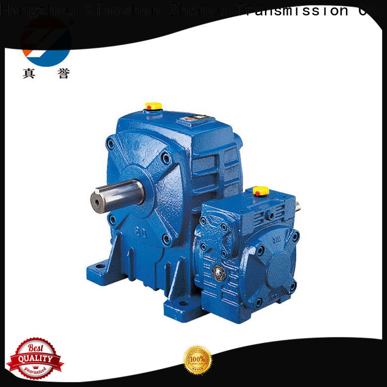 Zhenyu helical inline gear reduction box free quote for mining
