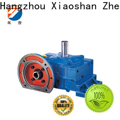 Zhenyu worm gear reducer for wind turbines
