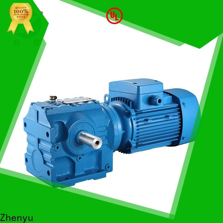 Zhenyu speed reducer motor free quote for chemical steel