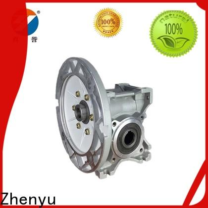 Zhenyu price worm gear reducer widely-use for wind turbines