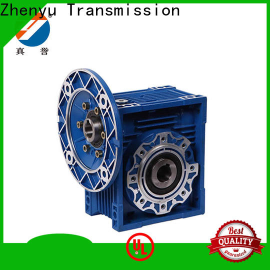 Zhenyu high-energy worm gear speed reducer order now for light industry
