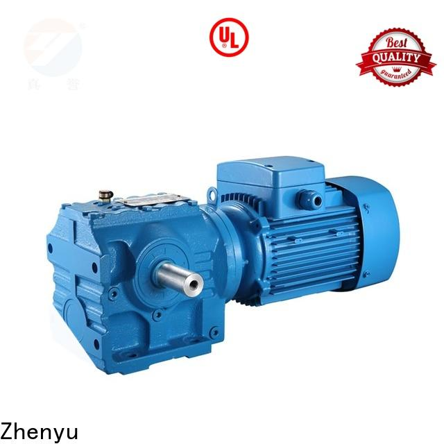 Zhenyu newly speed reducer for electric motor free design for printing