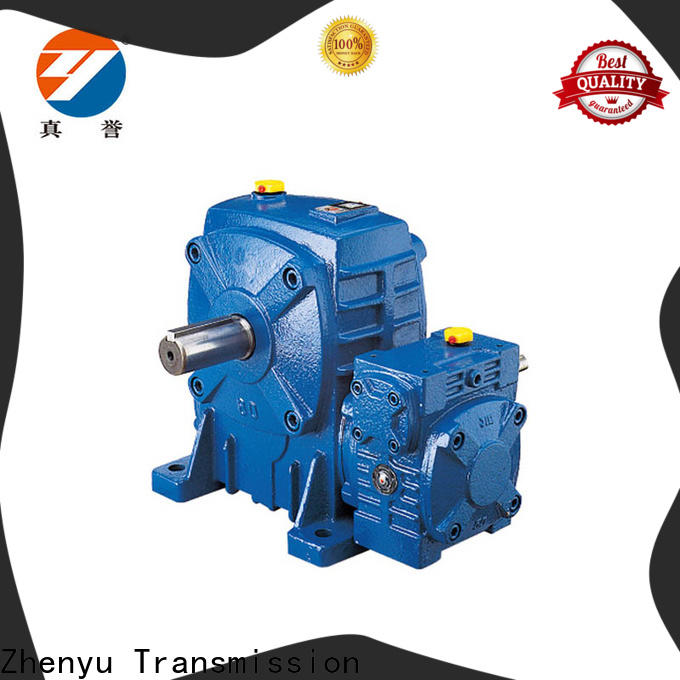 Zhenyu box worm gear reducer certifications for chemical steel
