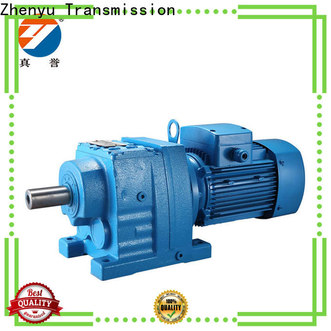 Zhenyu 150 speed reducer gearbox certifications for transportation