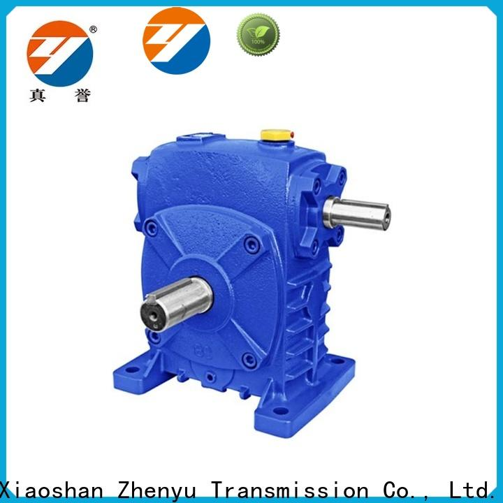 Zhenyu small speed gearbox free design for light industry