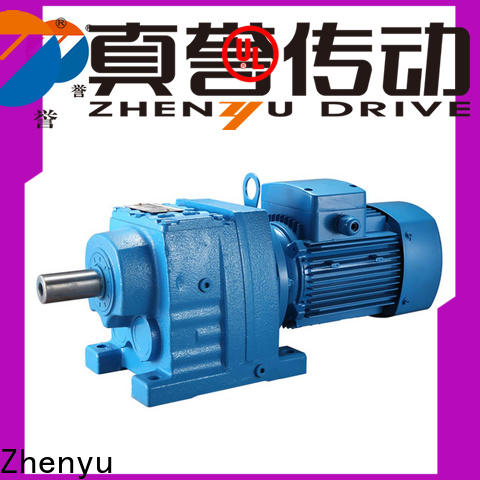 Zhenyu small gear reducer box certifications for lifting